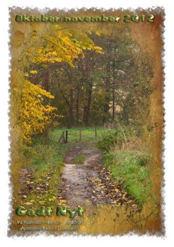 Godt Nyt 2012 oktober-november - 2 - Roskilde Frikirke