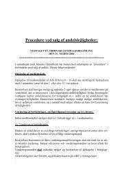 Procedure ved salg 2006 - AB Ærtevej 8-16