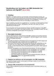 Handleiding XML - Bureau Financieel Toezicht