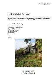 Stiftelsen Kulturmiljövård Rapport 2012:97 - KMMD