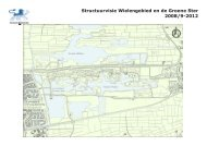 Structuurvisie Wielengebied en de Groene Ster 2008/9-2012