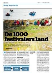 De 1000 festivalers land [Ledelse] - Trøndelag Forskning og Utvikling