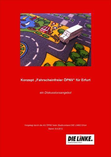 "Konzept ""Fahrscheinfreier ÖPNV"" - Matthias Baerwolff"