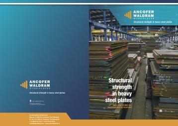 ANCW_Brochure 2008_NL.indd - AncoferWaldram Steelplates B.V.