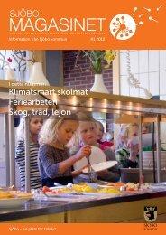 Sjöbomagasinet nr 1 2012 - Sjöbo kommun