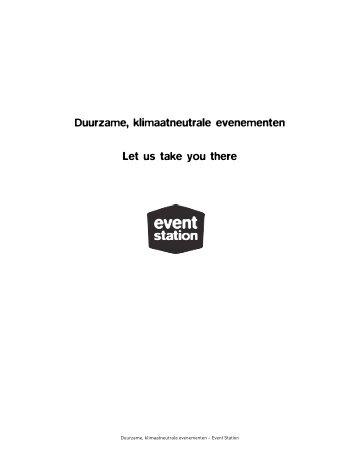 Download de publicatie Duurzame, klimaatneutrale ... - Event Station