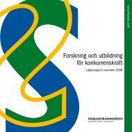 Industrins offert - Lägesrapport 2008