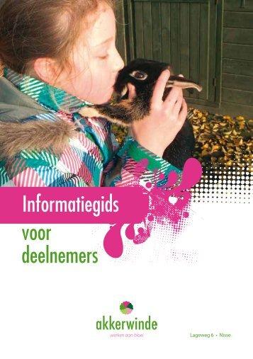 Informatiegids voor deelnemers - Akkerwinde
