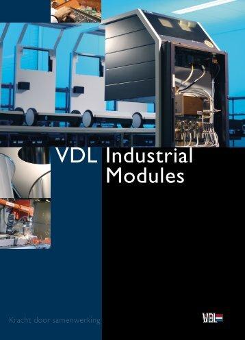 bedrijfsbrochure - VDL Industrial Modules