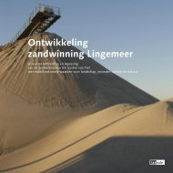 Ontwikkeling zandwinning Lingemeer