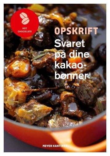 OPSKRIFT - Meyer Kantiner