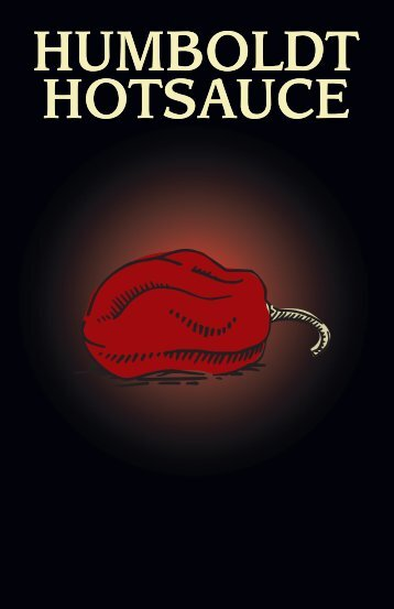 Humboldt Hotsauce Booklet
