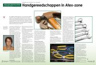 Handgereedschappen in Atex-zone - Solids Processing