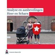 Analyse en aanbevelingen Heer en Scharn - Gemeente Maastricht