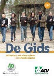 Infobrochure voor schoolverlaters en werkende jongeren - acvtje