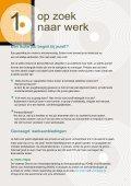 Infobrochure voor schoolverlaters en werkende jongeren - acvtje - Page 7