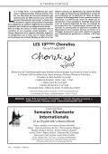 Polyphonies - Alliance des chorales du Québec - Page 6