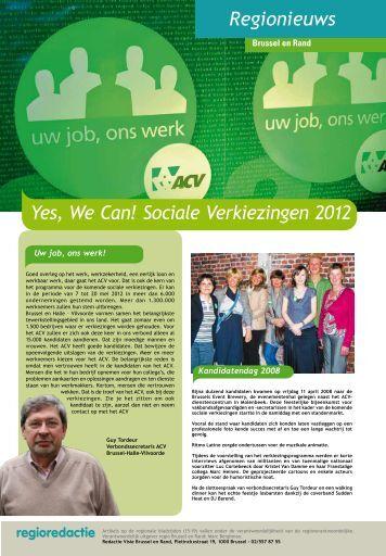 Regionale visie 2 februar 2012.pdf - ACW Verbond Brussel en rand