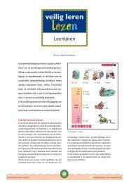 Leerlijnen - Veilig leren lezen