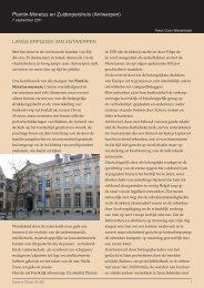 Plantin-Moretus en Zuiderpershuis (Antwerpen) - Koperen Passer vzw