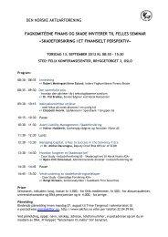 Invitasjon fagseminar Skade-Finans 2012.pdf - Aktfor.no