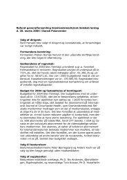 Referat generalforsamling Grønlandsmedicinsk Selskab lørdag d