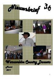 Nieuwsbrief 36 maart 2011 - Warnsveldse Country Dancers