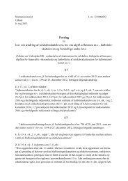 Høringsudkast lovforslag - aftaler om Vækstplan DK ... - Net