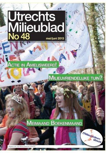 mei/juni 2013 - Milieucentrum Utrecht