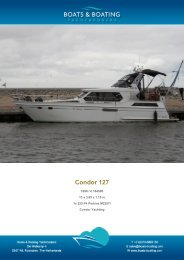 Condor 127 - Boats & Boating Yachtbrokers