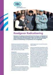 raadgever radicalisering.pdf - Nederlands Genootschap van ...