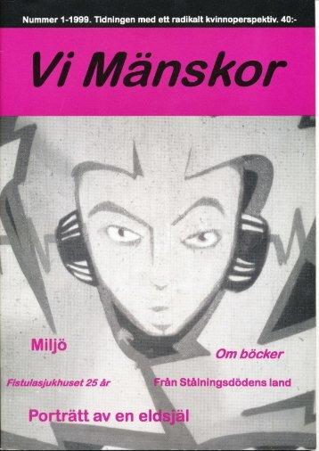 1999/1 - Vi Mänskor