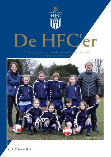 nr. 15. 25 januari 2011 - Koninklijke HFC