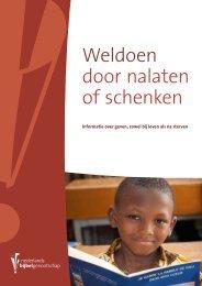 Weldoen door nalaten of schenken - Nederlands Bijbelgenootschap