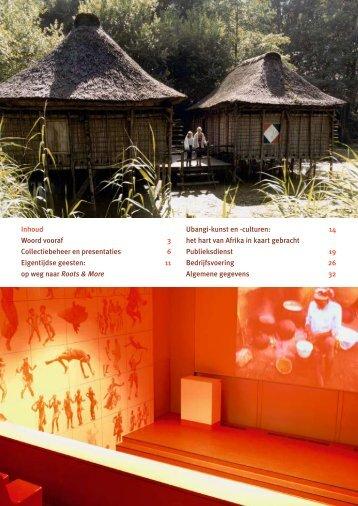 jaarverslag 2007 - Afrika Museum