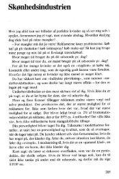 Skønhedsindustrien - Kvinfo