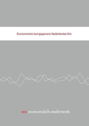 Economische kerngegevens Nederlandse film: Quickscan - SEO ...