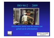 Inleiding ISO 9612