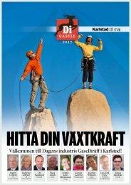 Klicka här för att ladda ner Karlstad program som pdf - Dagens Industri