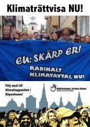 Följ med till klimattoppmötet i Köpenhamn! - Jordens Vänner