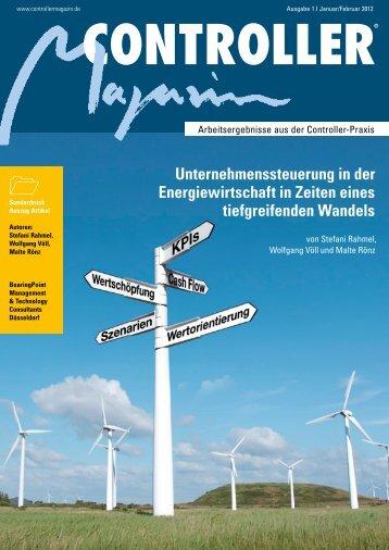 Unternehmenssteuerung in der Energiewirtschaft in ... - BearingPoint