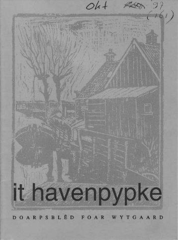 oktober - t Havenpypke