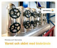 Fakta om vår verksamhet i Knivsta och Storvreta - Vattenfall