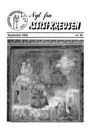September 2002 nr. 36 - Assisi-Kredsen