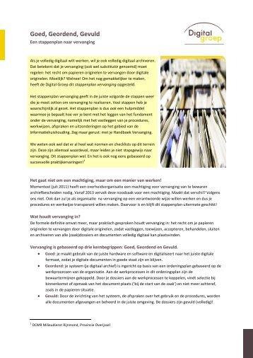 De essentie van digitaal archiveren - Digital