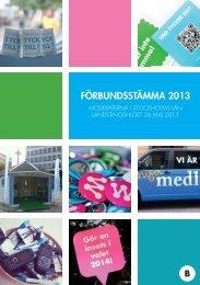 Förbundsstämma 2013 - Moderaterna i Stockholms stad & län
