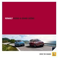 RENAULT SCÉNIC & GRAND SCÉNIC - Terwolde Renault