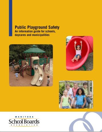 Public Playground Safety Handbook  Cpsc Publication