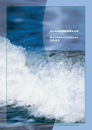 Arsredovisn2001 PDF.indd - Alpha Management Company S.A