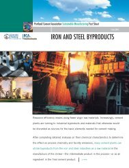 6. Iron and Steel Byproducts - Portland Cement Association